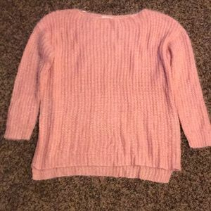 Easel pink sweater